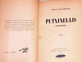Subastas - LIBRO 'PUTXINEL·LIS'