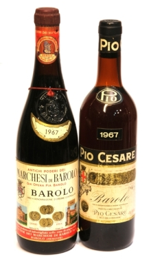 DOS BOTELLAS DE VINO ITALIANO
