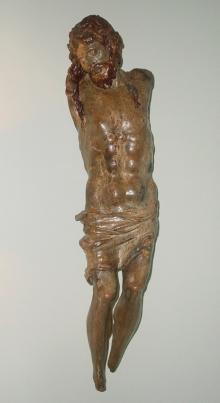 CRISTO CRUCIFICADO (Escuela castellana siglo XVI)