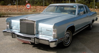 LINCOLN CONTINENTAL COUPE