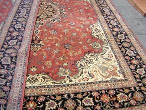 Alfombra persa ir n tabriz mide 350x250 es de iran for Alfombras persas online
