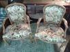 Dos sillas Luis XV o Isabelino