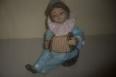 Antiguo pallaso de ceramica