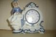 Reloj despertador pequeño de ceramica fina