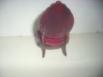 Antiguo Sofá y silla de casa de muñecas_5