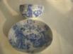 Antigua taza y plato de porcelana fina_2