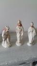 figuras de los 3 reyes magos de porcelana