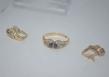 Conjunto de Anillo y Pendientes De Oro 18K  Ambos Con piedras Semi-Preciosas_1