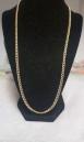 Collar de Oro de 18K Mide: 60 cm Y Pesa  11,8 gr